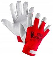 Кожаные профессиональные перчатки.